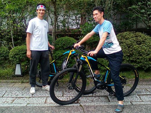 高機能電動アシストe-bike【BESV TRS1】(2台まで)