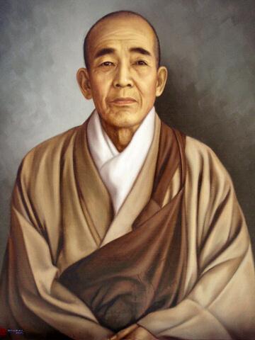 円光院日仙上人肖像 (馬堀法眼喜孝画伯画)